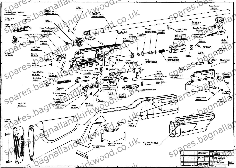 Umarex 850 Airmagnum Spare Parts