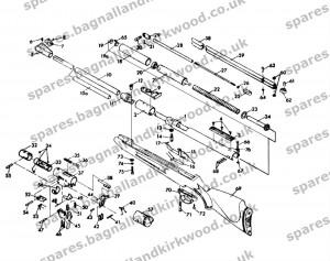 RWS Diana Original Mod 48  Bagnall and Kirkwood Airgun