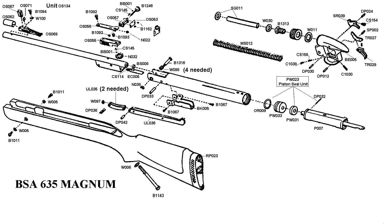 Bsa 635 Magnum