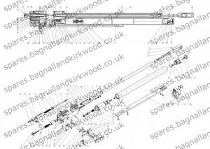 Ataman M2 M2R Air Rifle Spare Parts Diagram Exploded Parts List