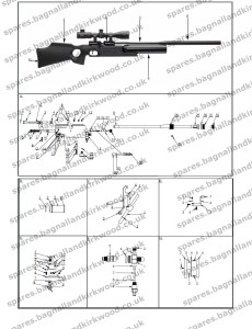 FX Boss Air Rifle Exploded parts Diagram Action 230x300?resize=230%2C300&ssl=1 fx boss bagnall and kirkwood airgun spares
