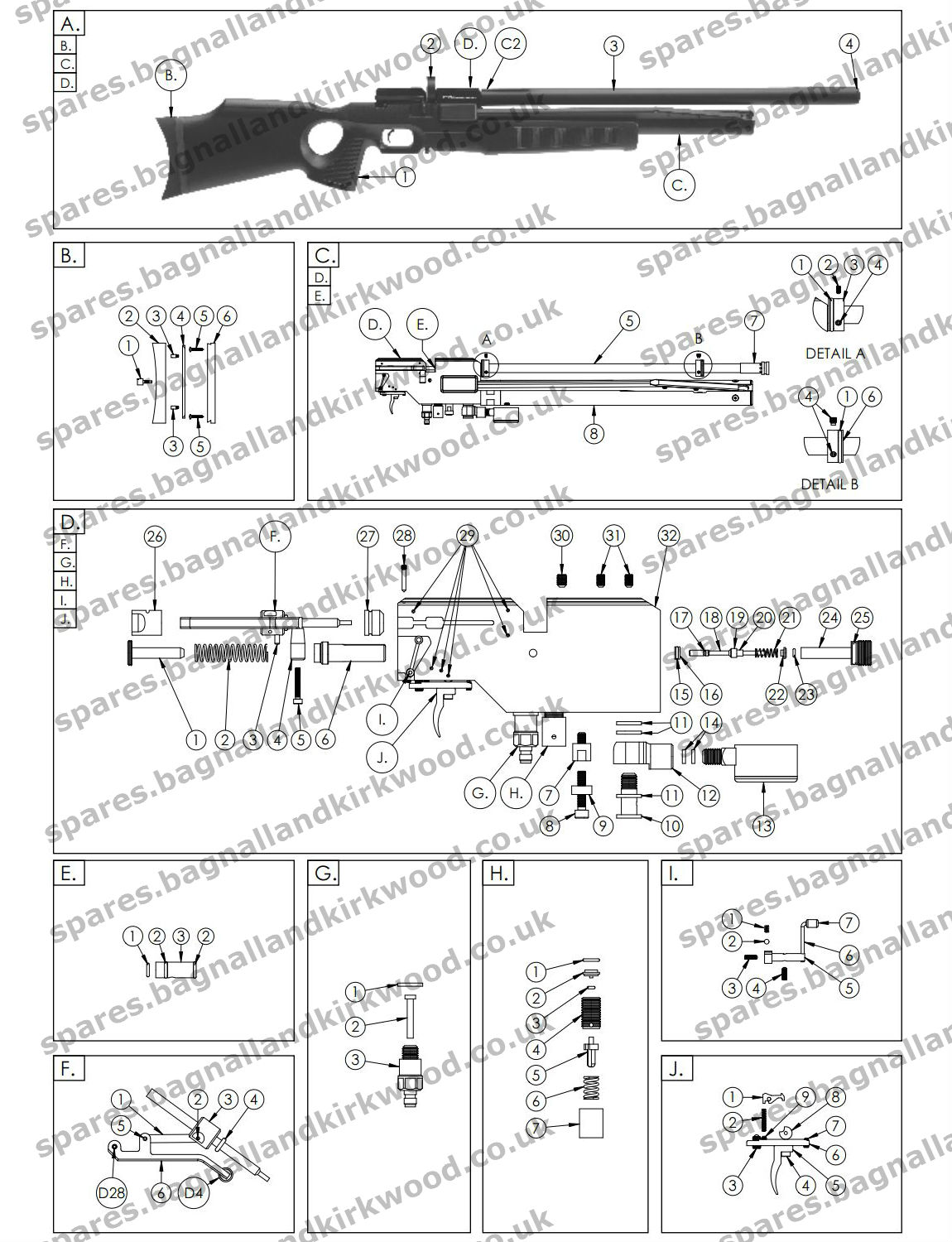 Webley Air Rifle Parts | Wiring Diagram Database