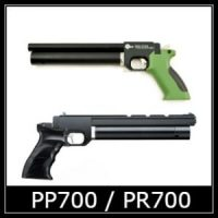 spa PP700 Air Pistol Spare Parts