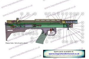 FX Axsor Air Rifle Exploded Parts List Diagram A