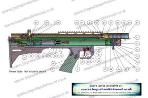 FX Axsor Air Rifle Exploded Parts List Diagram A