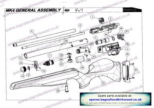 Daystate Mk4 Exploded Parts Diagram