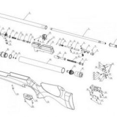 M16 Exploded Diagram Obd2 To Obd1 Distributor Wiring Artemis Bagnall And Kirkwood Airgun Spares Air Rifle Parts Sheet