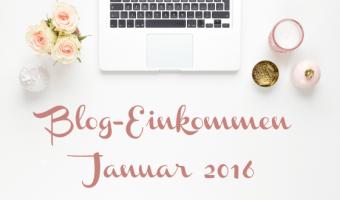 Blog-Einkommen im Januar 2016