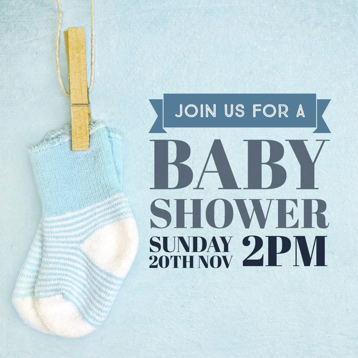 Custom baby shower invite Baby boy shower invitation ...