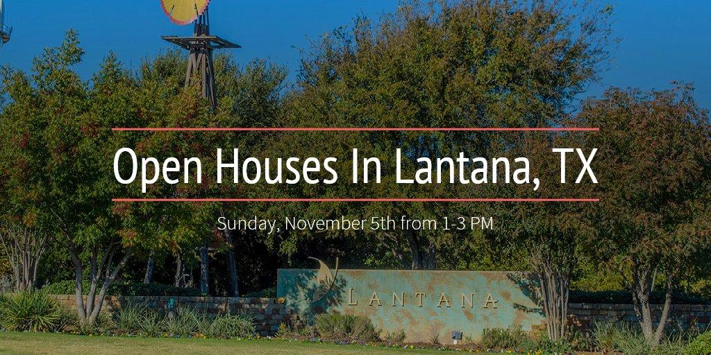 Open Houses In Lantana, TX