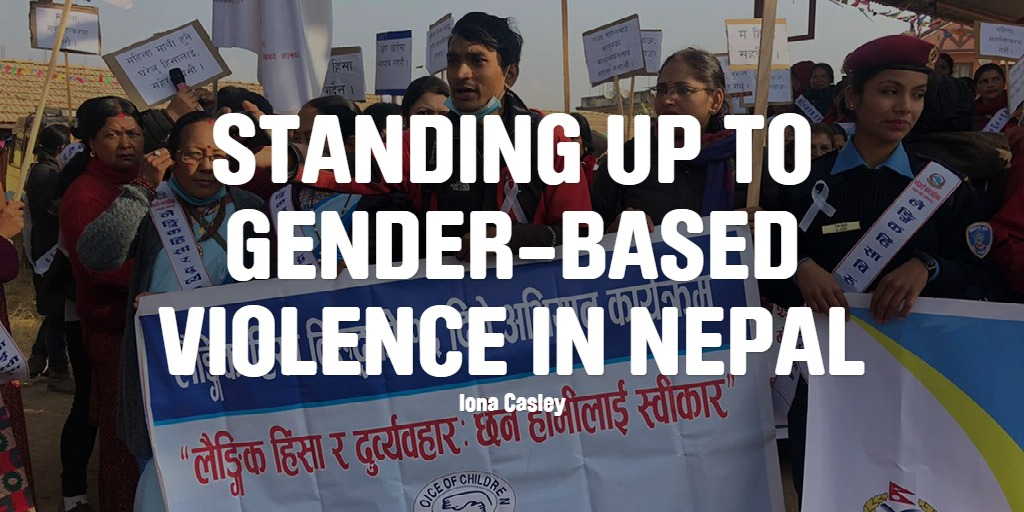 Standing up to gender-based violence in Nepal