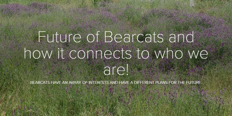 Future of Bearcats and how it connects to who we are!