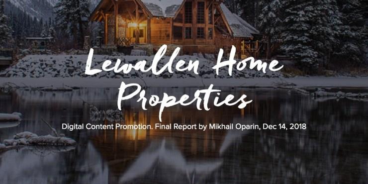 Lewallen Home Properties