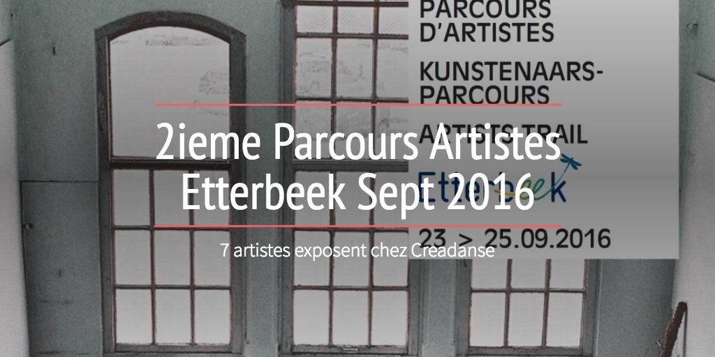 2ieme Parcours Artistes Etterbeek Sept 2016