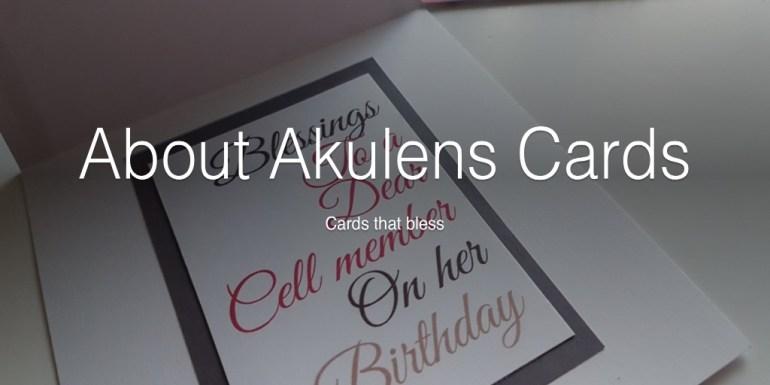 Akulens Cards