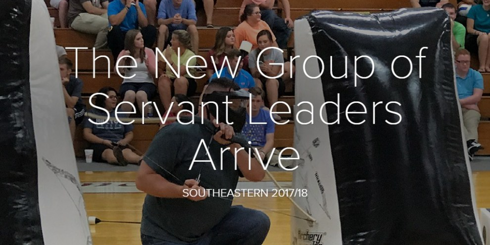The New Group of Servant Leaders Arrive