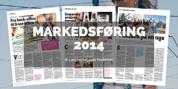 Lars Hedegaard Pedersen - Markedsføring 2014