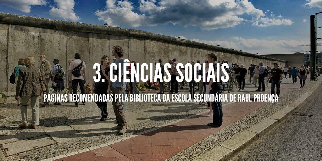 3. Ciências sociais