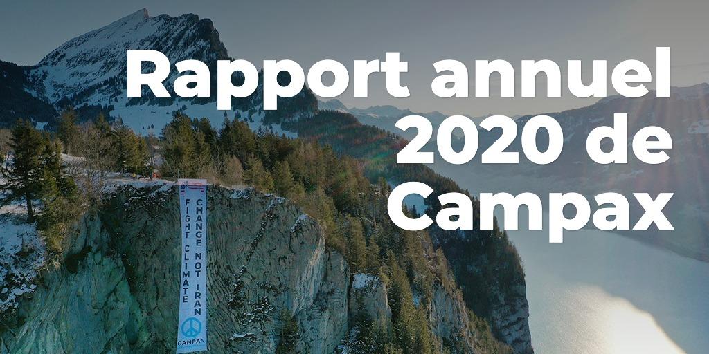 Rapport annuel 2020 de Campax