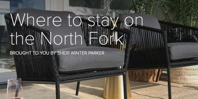 Where to stay on the North Fork