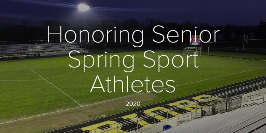 Honoring Senior Spring Sport Athletes