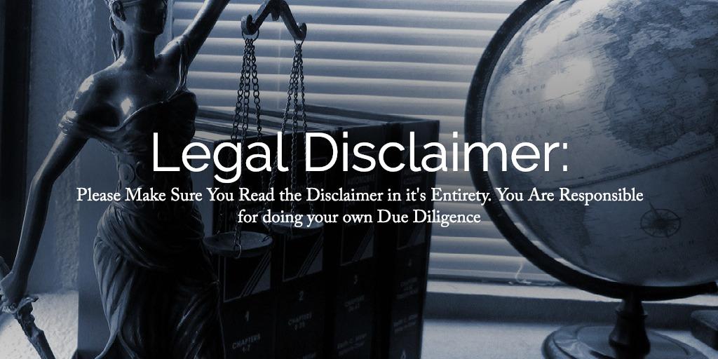 Legal Disclaimer: