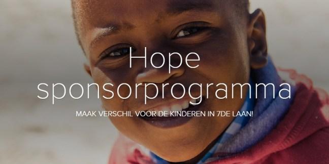 Hope sponsorprogramma