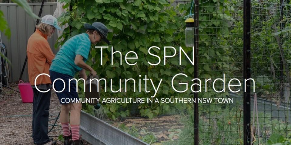 The SPN Community Garden