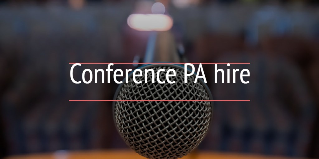 Conference PA hire