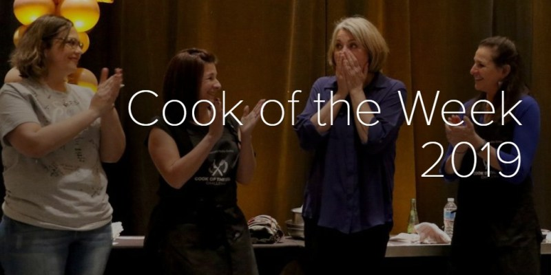 Cook of the Week 2019