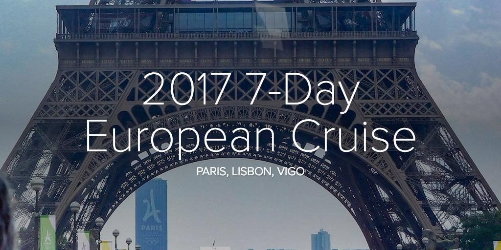 2017 7-Day European Cruise