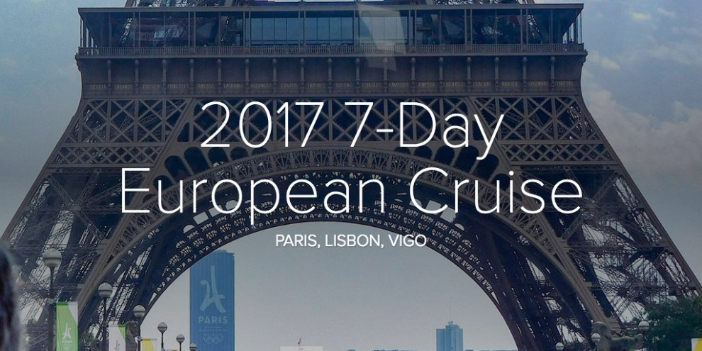2017 7-Day European Cruise