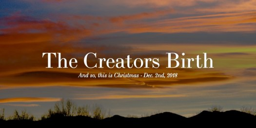The Creators Birth