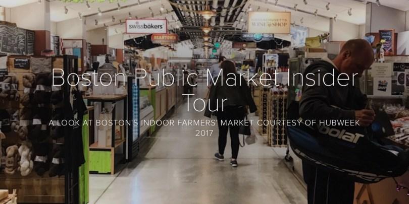 Boston Public Market Insider Tour