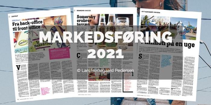 Lars Hedegaard Pedersen - Markedsføring 2021