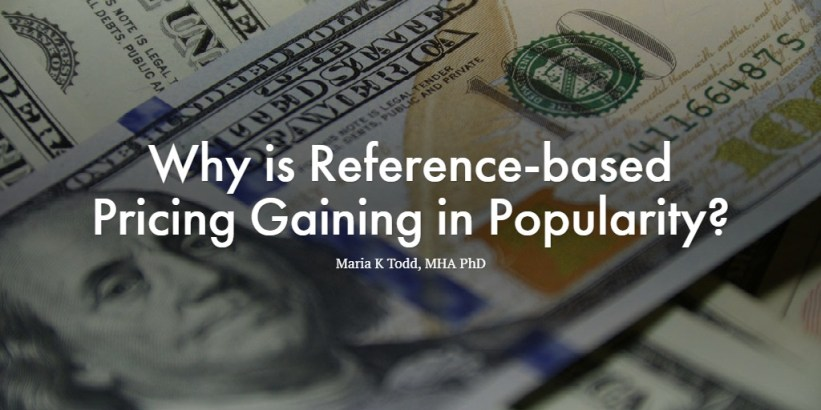 Why is Reference-based Pricing Gaining in Popularity?
