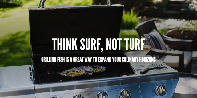 Think surf, not turf