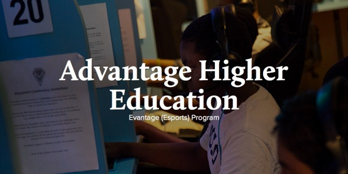 Advantage Higher Education