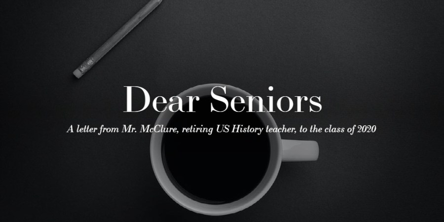 Dear Seniors