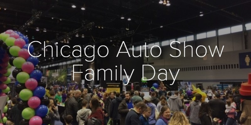 Chicago Auto Show Family Day