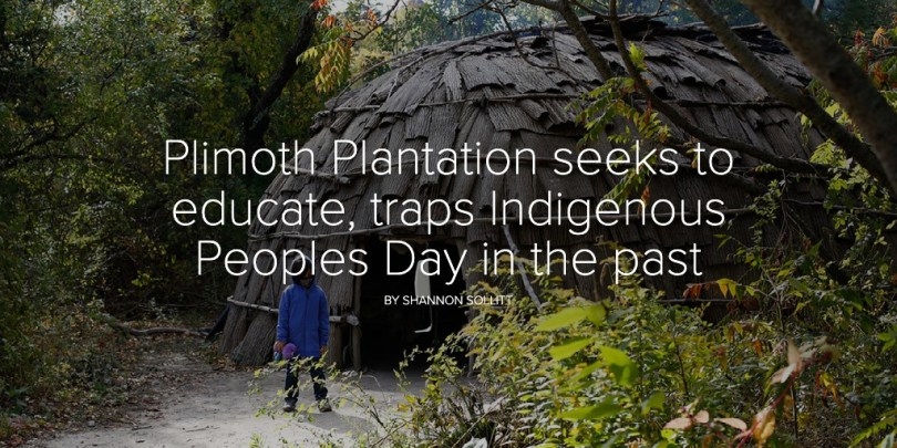 Plimoth Plantation's Indigenous Peoples Day celebration dwells in the past