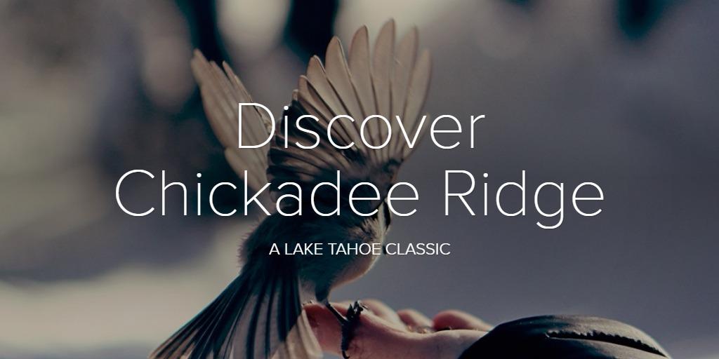 Discover Chickadee Ridge