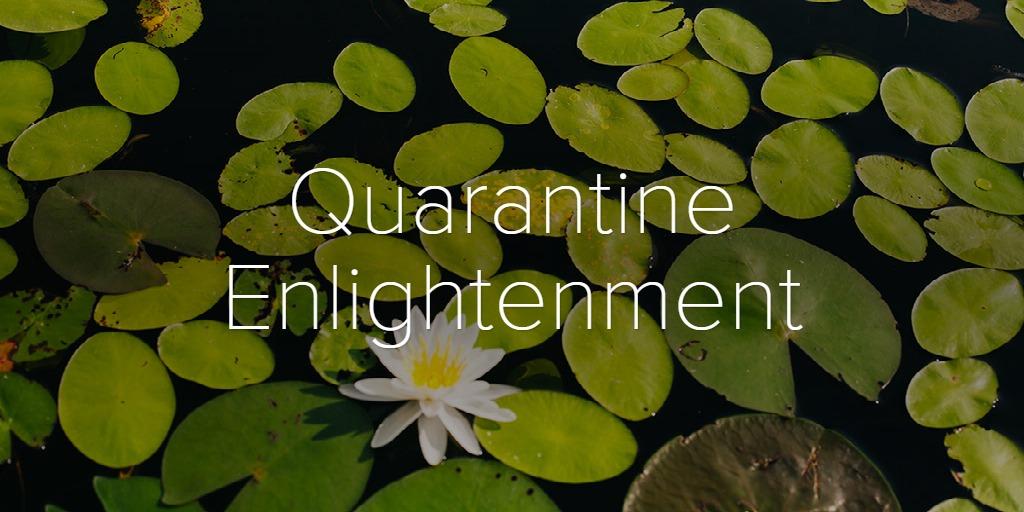 Quarantine Enlightenment
