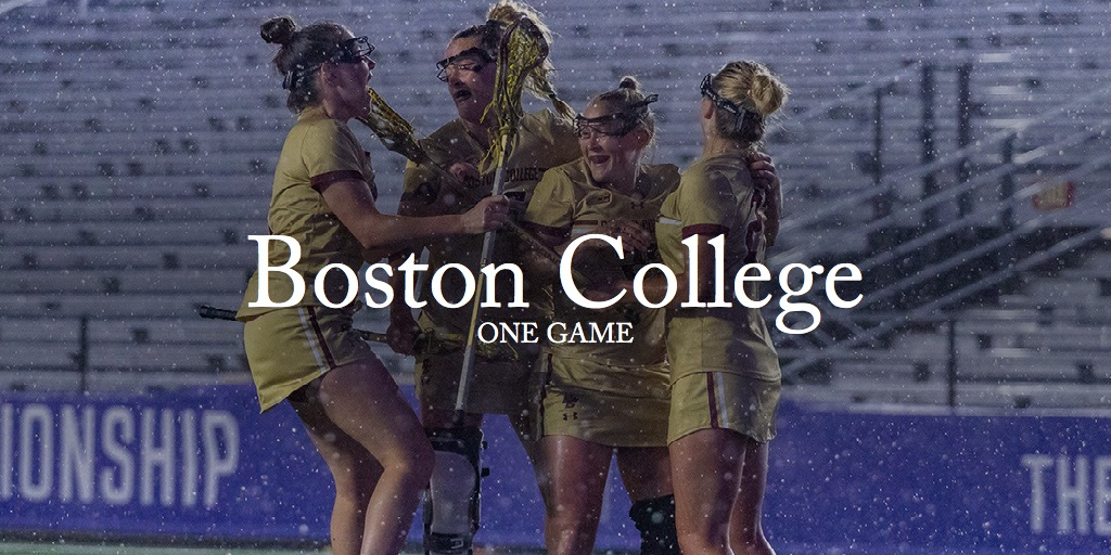 One Game - Boston College