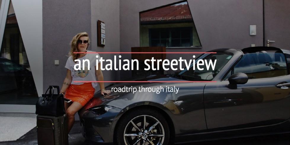 an italian streetview
