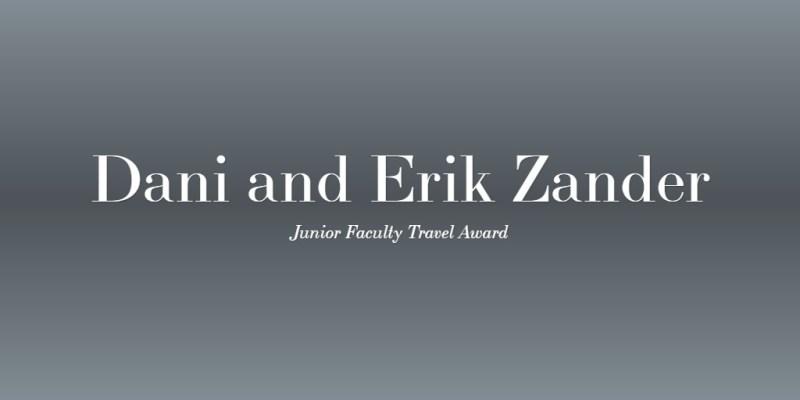 Dani and Erik Zander