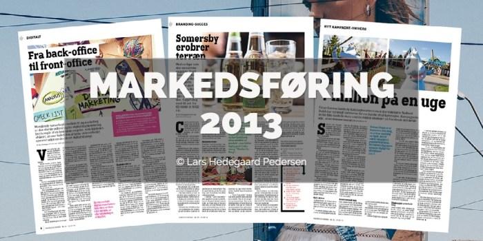 Lars Hedegaard Pedersen - Markedsføring 2013