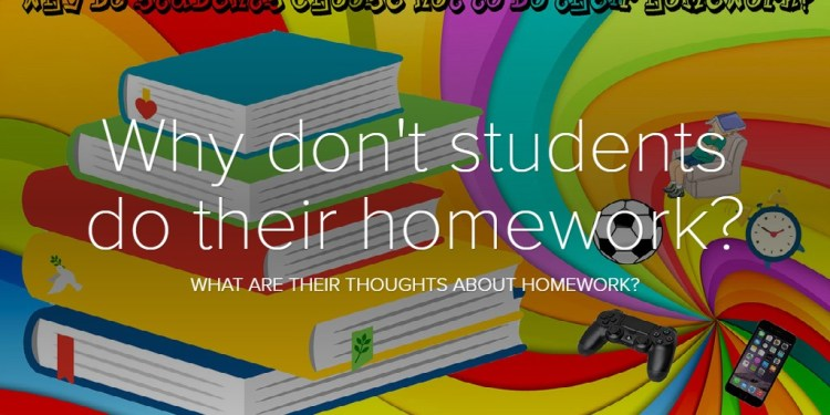 Why don't students do their homework?
