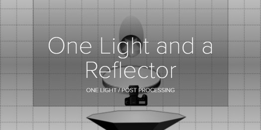 One Light and a Reflector