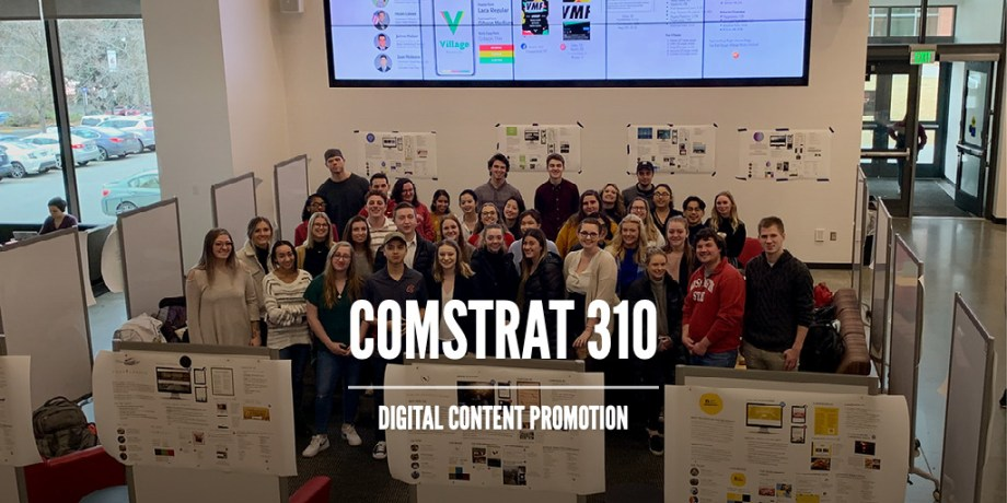 Showcase of COMSTRAT 310: Digital Content Promotion